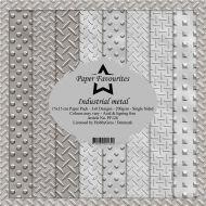Industrial Metal 6 x 6 Paper Pad