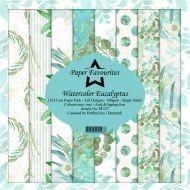 Watercolour Eucalyptus 6 x 6 Paper Pad