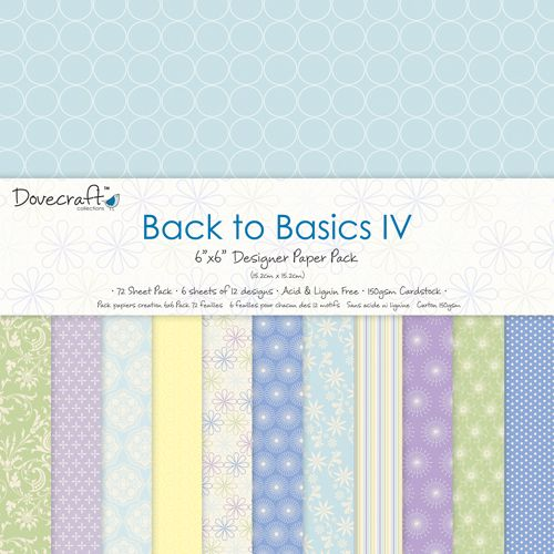 Dovecraft Back to Basics IV 6 x 6 Paper Pad