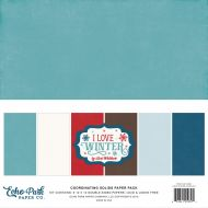 I Love Winter 12 x 12 Paper Pack
