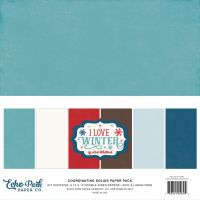 I Love Winter 12 x 12 Paper Pack