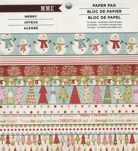 Be Merry 6 x 6 Paper Pad (DISCONTINUED)