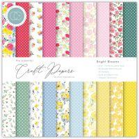 Bright Blooms Essential 6 x 6 Paper Pad