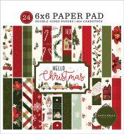 Hello Christmas 6 x 6 Paper Pad