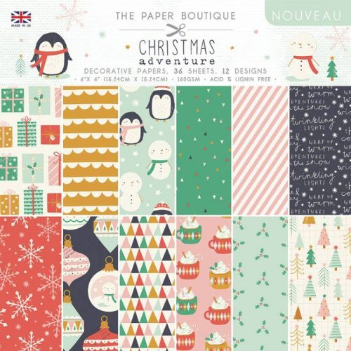 "Christmas Adventure 6"" x 6"" Paper Pad"
