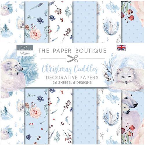 Christmas Cuddles 6 x 6 Paper Pad