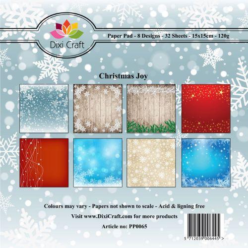 Christmas Joy 6 x 6 Paper Pad