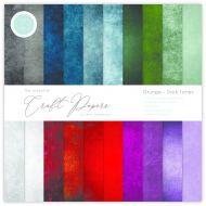 Grunge Dark Tones 6 x 6 Paper Pad