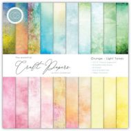 Grunge Light Tones 6 x 6 Paper Pad (OUT OF STOCK)