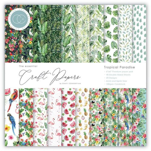 Tropical Paradise Essential Paper Pad (OUT OF STOCK)