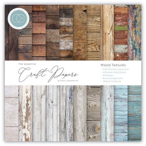 Wood Textures Essential Paper Pad (OUT OF STOCK)