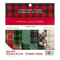 Christmas Tartans 6 x 6 Paper Pad