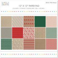 Deck the Halls 12 x 12 Paper Pad