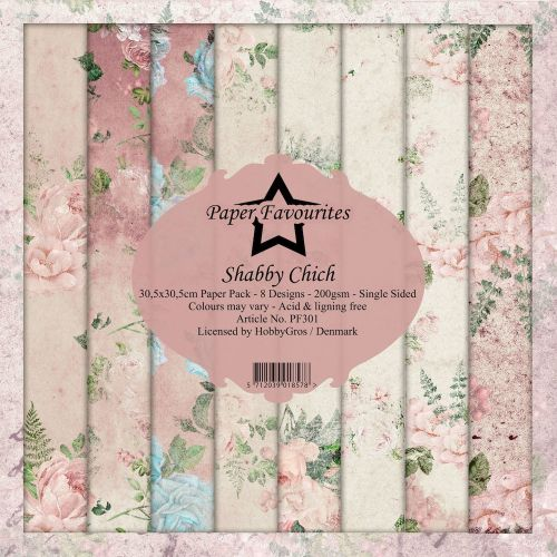 Shabby Chic 12 x 12 Paper Pad (OUT OF STOCK)