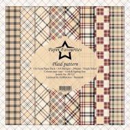 Tartan Plaid Pattern 6 x 6 Paper Pad