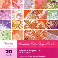 6 x 6 Oriental Paper Pad (OUT OF STOCK)