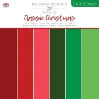 Shades Of Classic Christmas 8 x 8 Plain Paper Pad