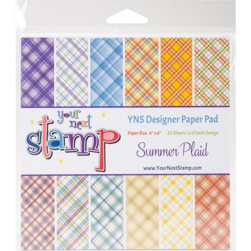 Summer Tartan 6 x 6 Paper Pad