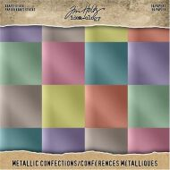 Metallic Confections Kraft Core Card Stock