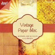 6 x 6 Vintage Paper Pad