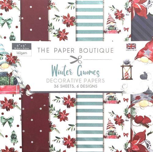 Winter Gnomes 6 x 6 Paper Pad