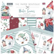 Winter Gnomes 8 x 8 Paper Kit