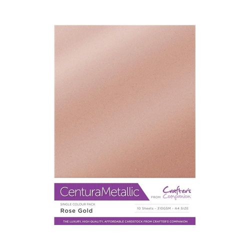 Centura Pearl 10 Sheet Card Pack Rose Gold