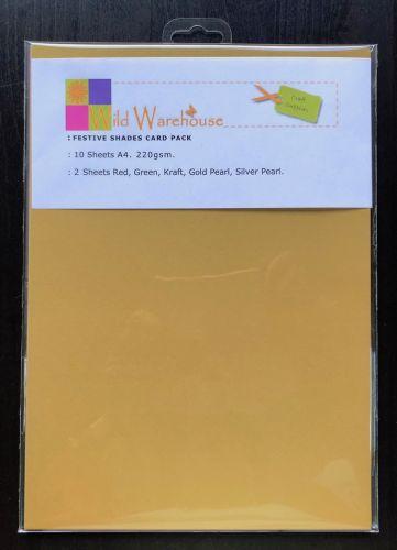 Festive Shades A4 Card Pack