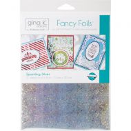 Gina K Fancy Foil Sparkling Silver (OUT OF STOCK)