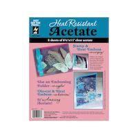 Heat Resistant Acetate Sheets