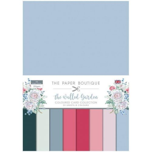 The Walled Garden A4 Coloured Card Pack