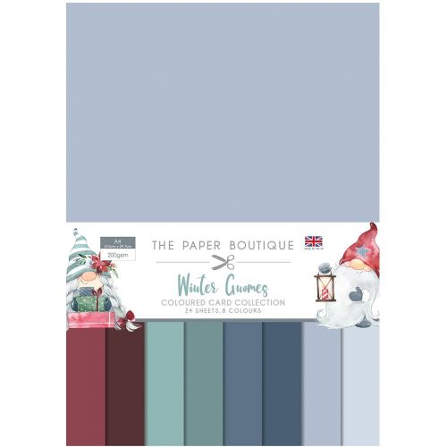 Paper Boutique Winter Gnomes A4 Card Pack (OUT OF STOCK)