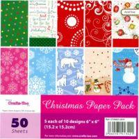 Christmas 6 x 6 Paper Pad