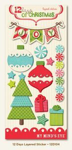 Christmas Layered Stickers