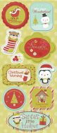 Christmas Chipboard Stickers