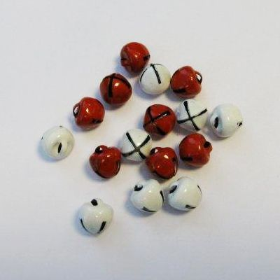 Christmas Jingle Bells Red and White