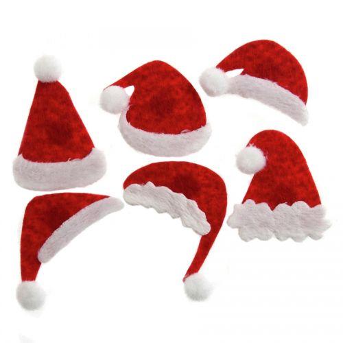 Father Christmas Hats Embellishments