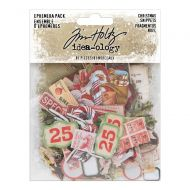 Christmas Embellishments Ephemera Pack