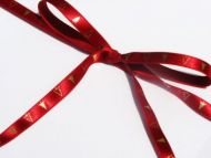 Red and Gold Christmas Tree Ribbon