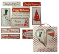 Scandinavian Style Christmas Words and Toppers