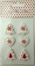 3D Christmas Embellishments