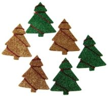 Glitter Christmas Trees