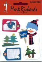 Snowman and Tags Embellishment