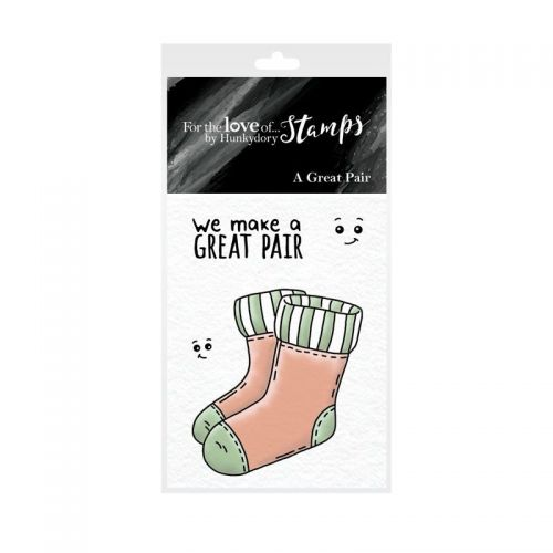Pocket Sized Puns We Make A Great Pair Clear Stamp Set