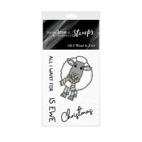 Pocket Sized Puns All I Want Is Ewe Clear Stamp Set