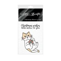 Pocket Sized Puns Christmas Wishes From Meow To You Clear Stamp Set