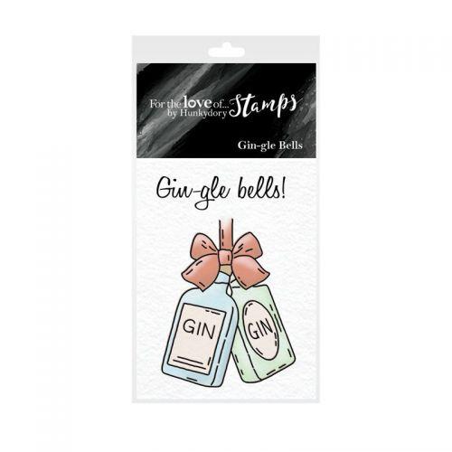 Pocket Sized Puns Gin-gle Bells Clear Stamp Set