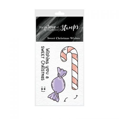 Pocket Sized Puns Sweet Christmas Wishes Clear Stamp Set