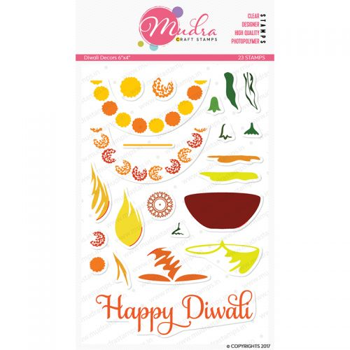 Diwali Decorations Clear Stamp Set (OUT OF STOCK)