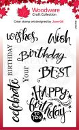 A Birthday Moment Clear Stamp Set